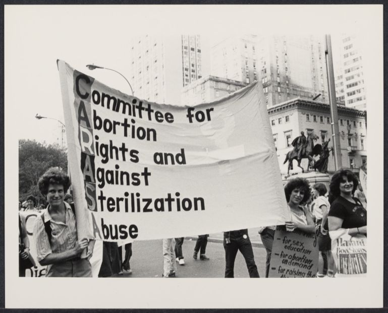 Women '80 demonstration