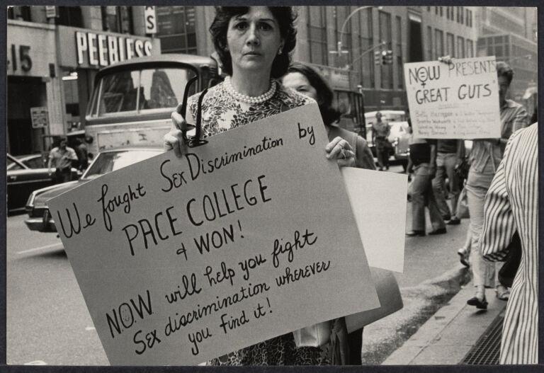 Women's liberation demonstration