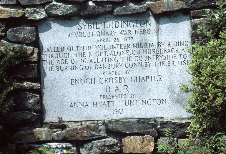 Sybil Ludington statue