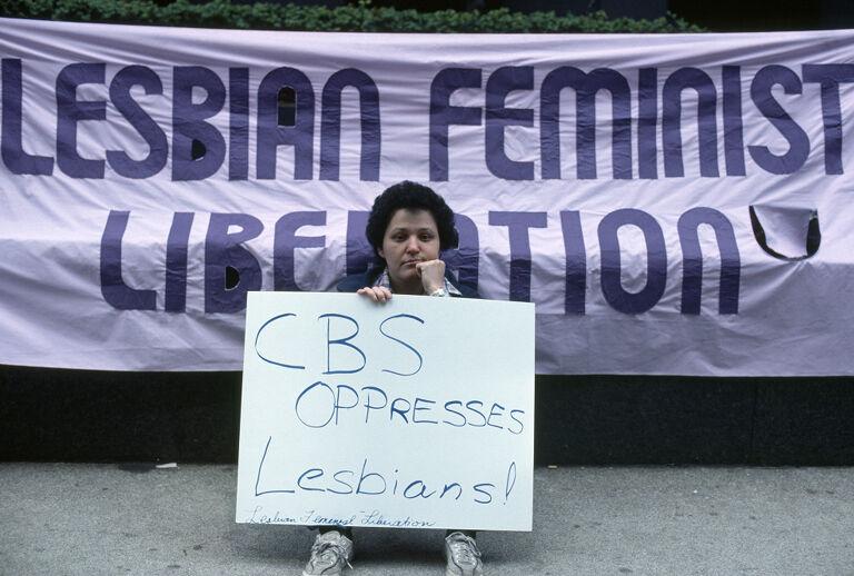 Lesbian demonstrations