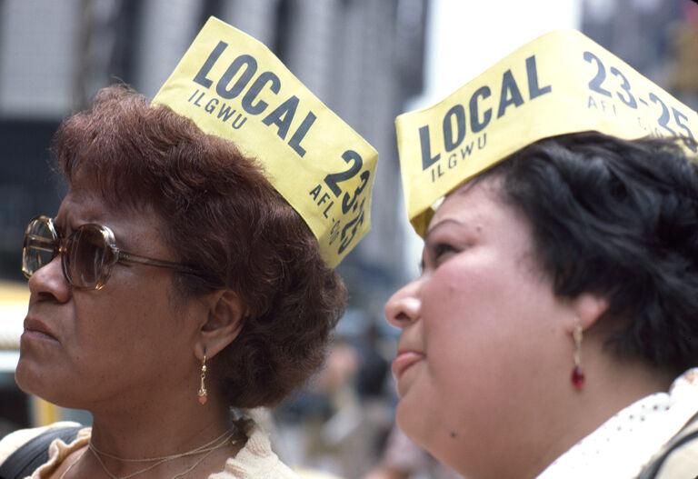 Union women demonstration