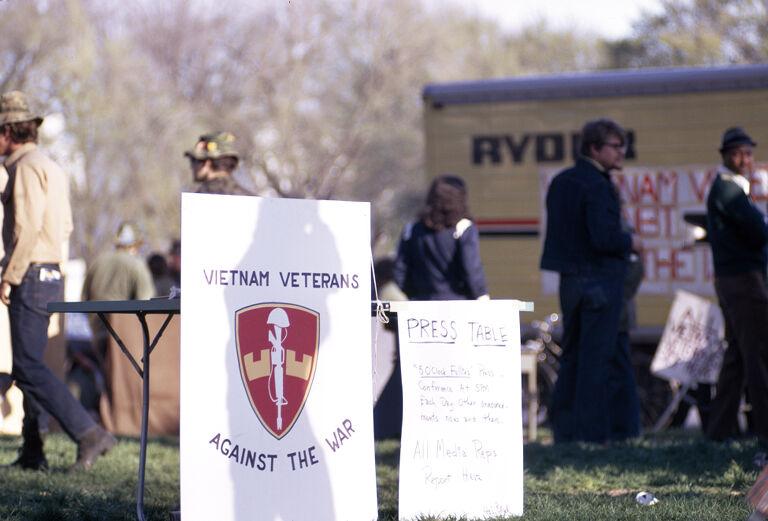 Anti-war demonstrations in Washington, D.C.