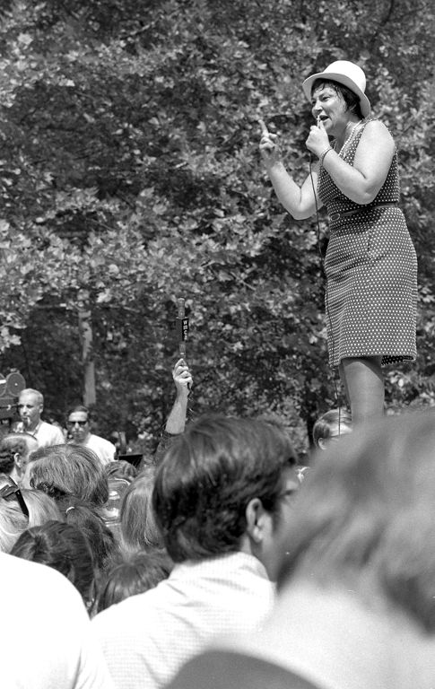 Women's strike demonstration