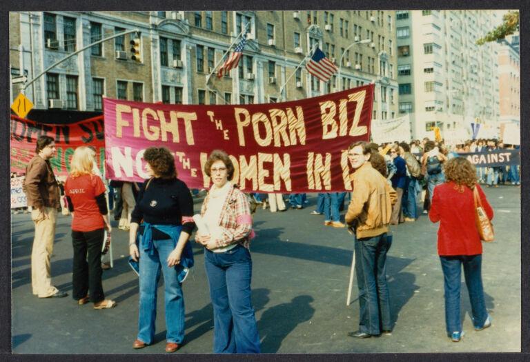 Anti-pornography protest, ca.1979