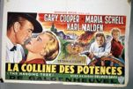 La Colline des Potences, French language motion picture poster for 'The Hanging Tree' directed by Delmer Daves. Olvwork368990