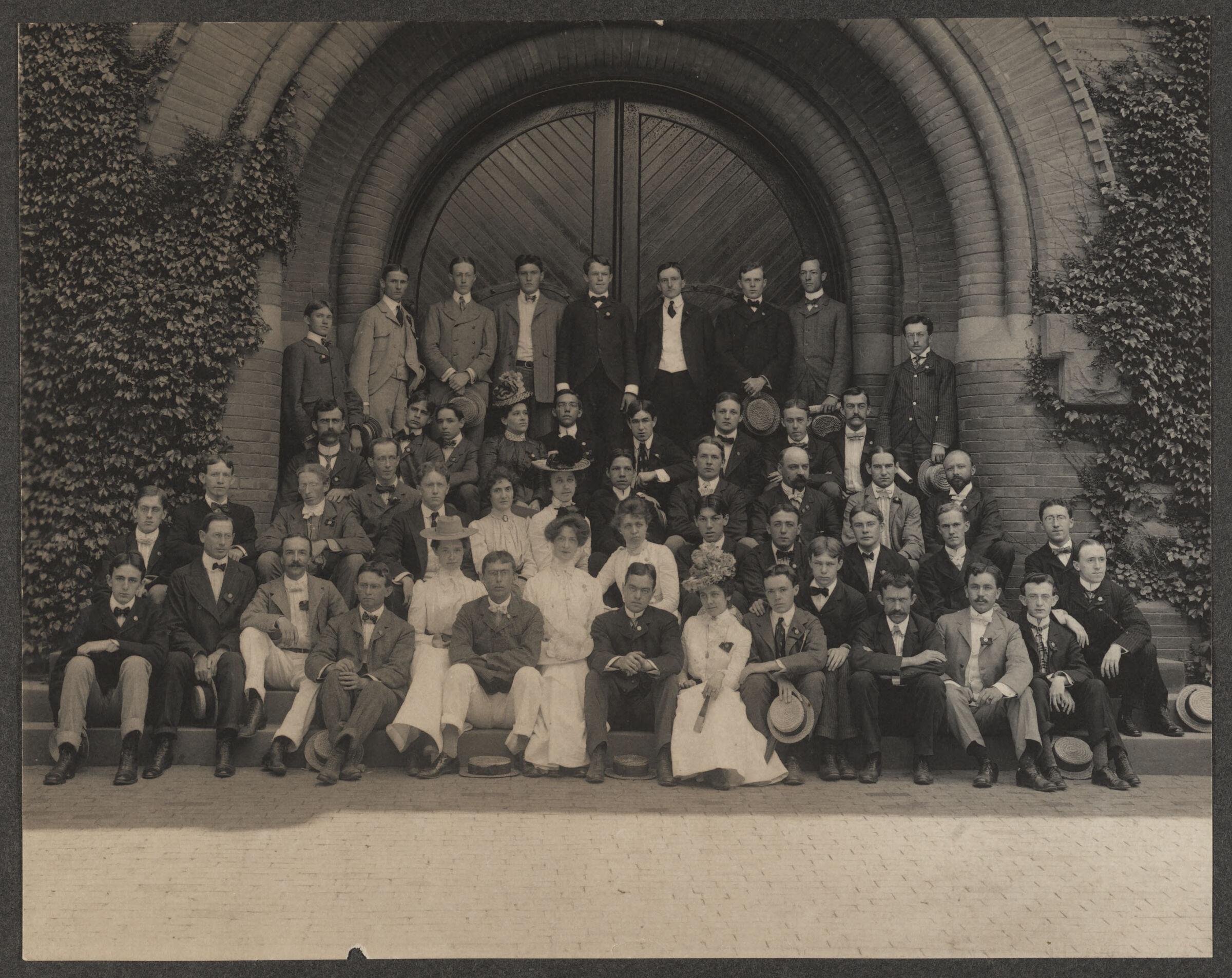 American Assistants, Cuban Summer School at Harvard, [photograph], [circa 1900]