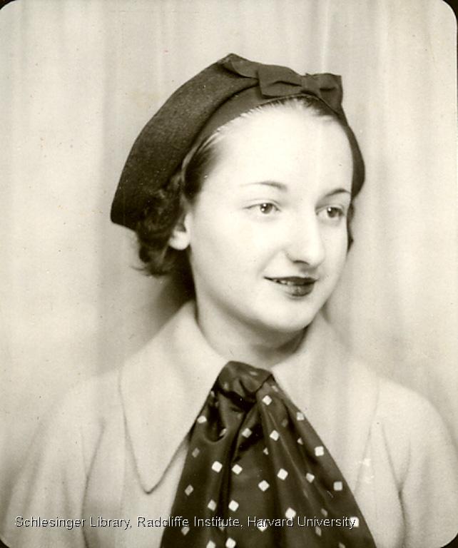 Portrait of Betty Friedan in Junior High School