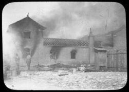 Burning the first plague hospital, Fuchiatien