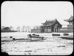 """Old style"" Chinese plague hospital, Changchun"