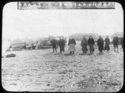 Taotai He superintending the first cremation, Changchun