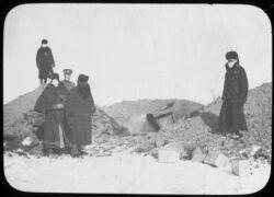 Staff inspecting crematory, Fuchiatien