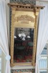 Late Federal gold leaf eglomise mirror