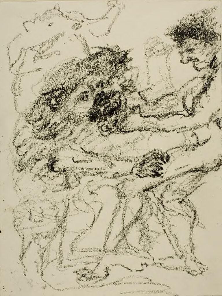 David Battles A Lion (I Samuel 17:34-36)