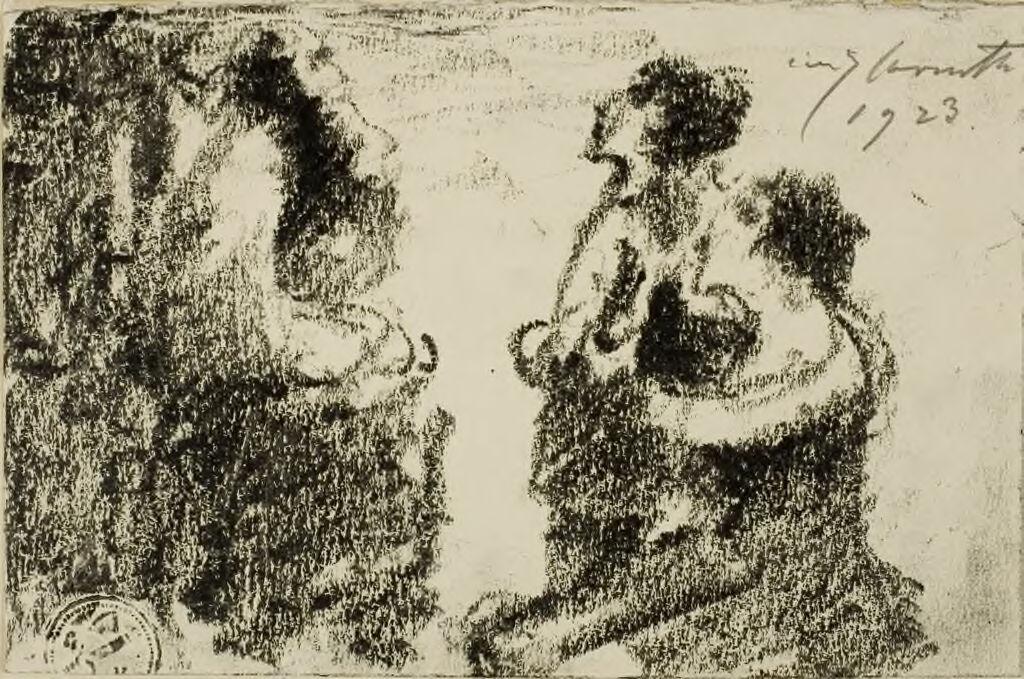 Hannah Brings Her Son Samuel To Eli (I Samuel 1:24)
