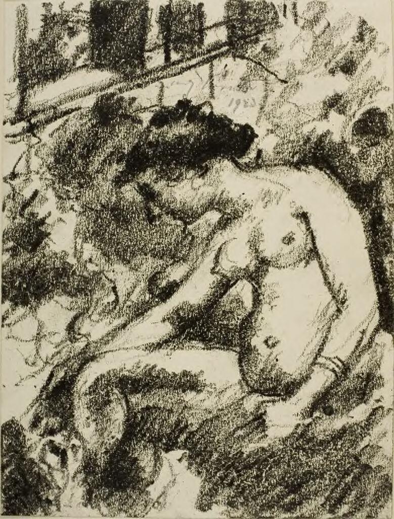 Bathsheba Washing Herself (Ii Samuel 11:2-27)