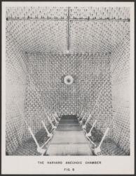 Harvard Anechoic Chamber, Fig. 8 [photograph ca. 1945] Digital Object