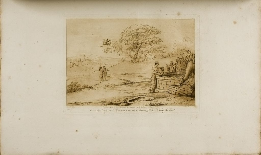 A Landscape, Rebecca At The Well
