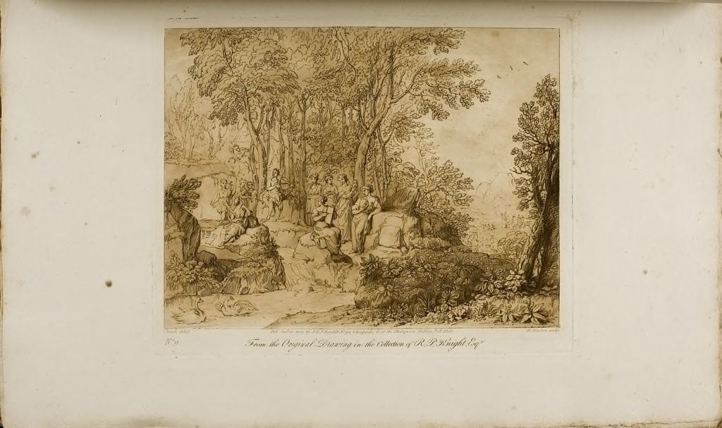 Apollo And The Muses At Mount Parnassus