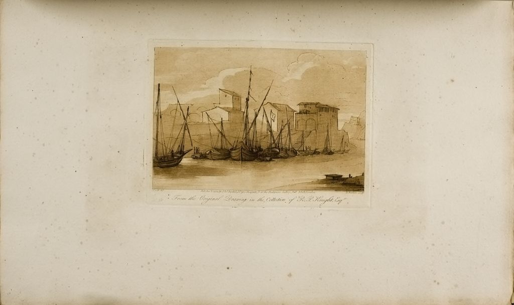 A Seaport, With Vessels