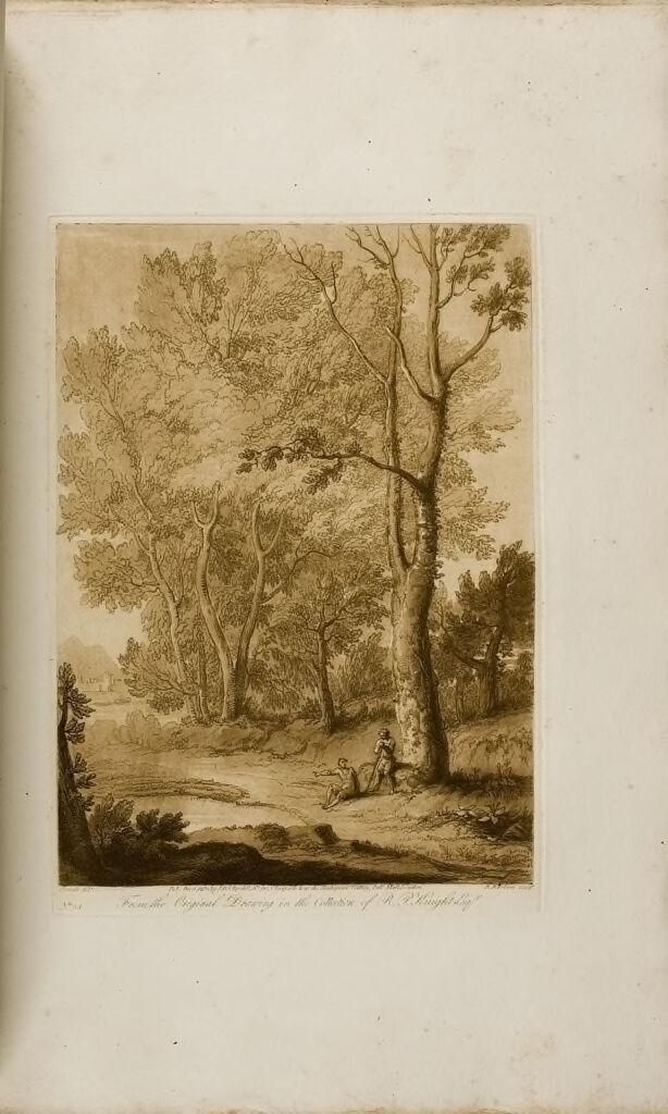 A Landscape, Mercury And Apollo