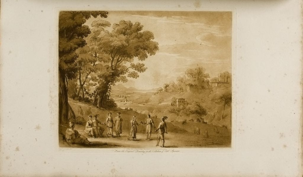 A Landscape, With Dancing Peasants