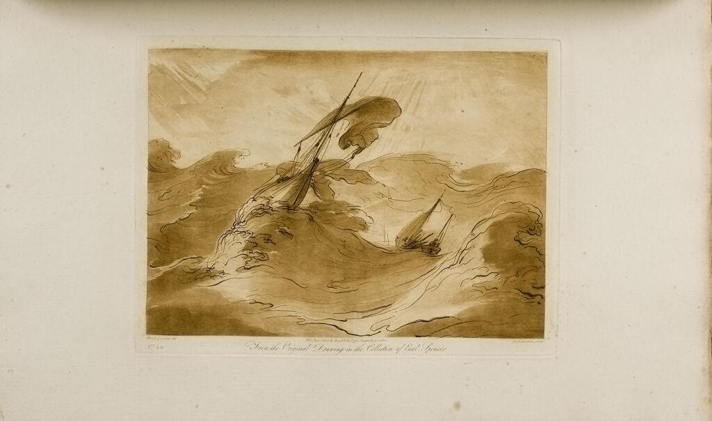 A Study, Storm At Sea
