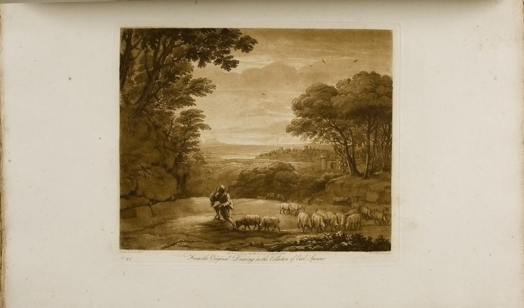 A Landscape, Moses And The Burning Bush