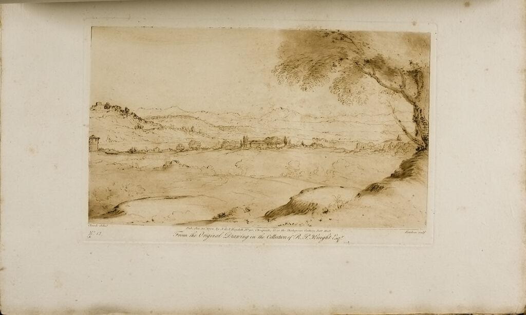 A Landscape, Distant Mountainous Country