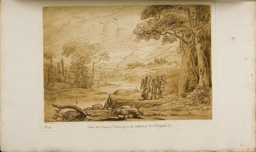 A Landscape, Angels And St. John