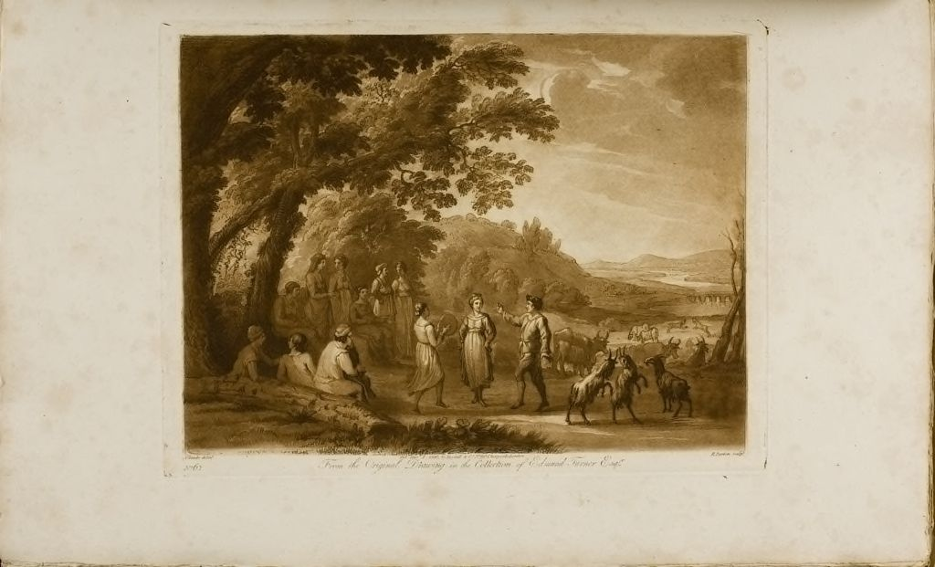 A Landscape, With Peasants Dancing
