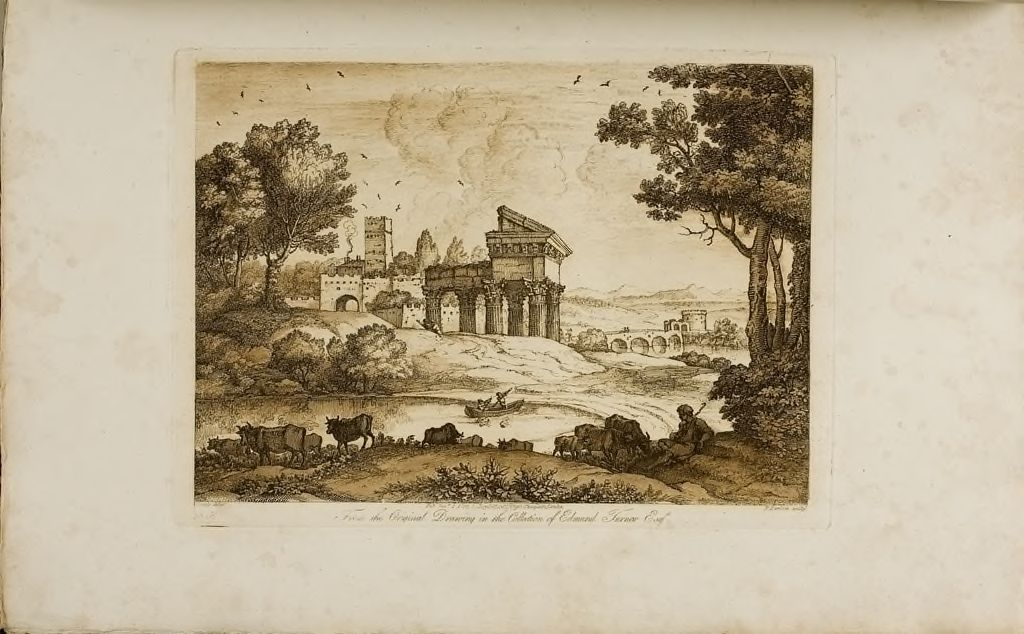 Landscape, With Ruins Of A Temple