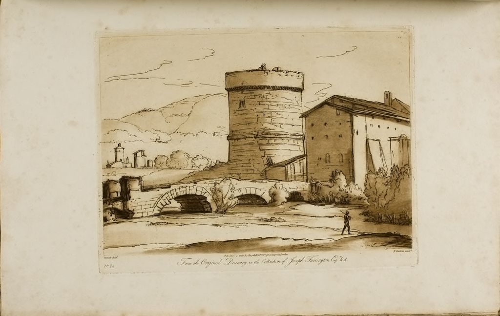 A Landscape, With Ruins