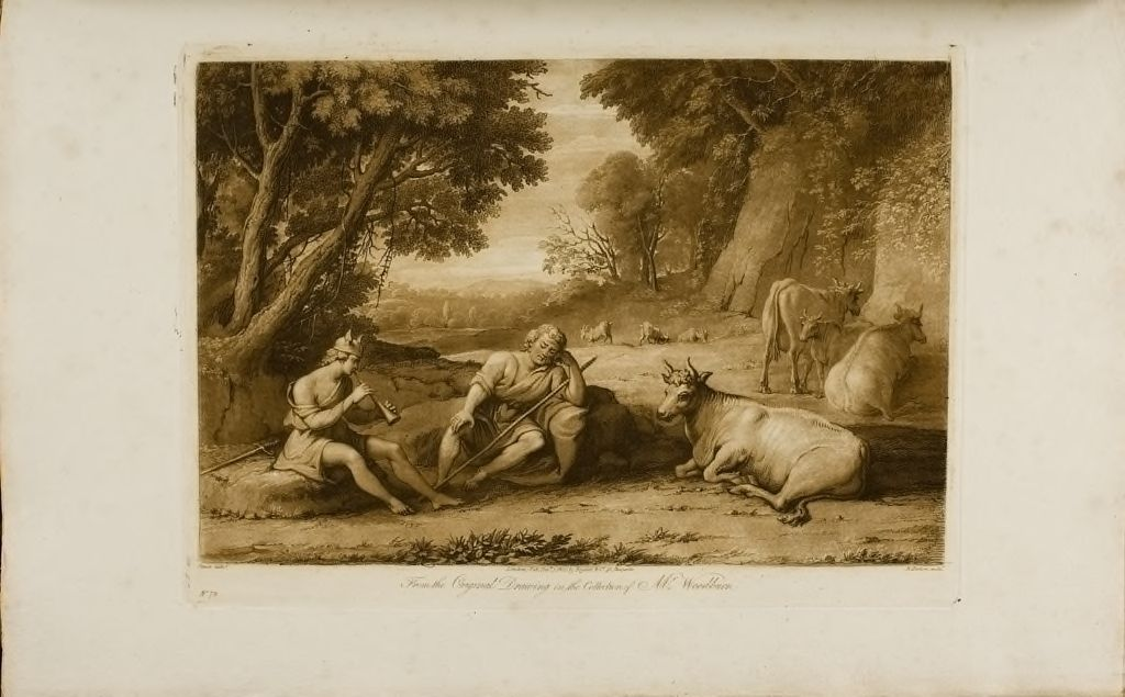 A Landscape, With Mercury And Argus