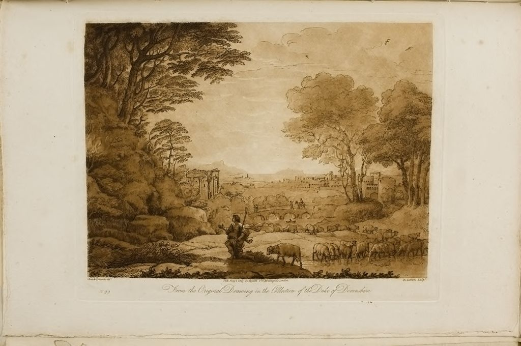 A Landscape, With Moses And The Burning Bush