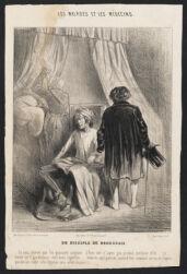 Disciple de Broussais, Un
