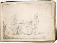 Peasant Couple Feasting