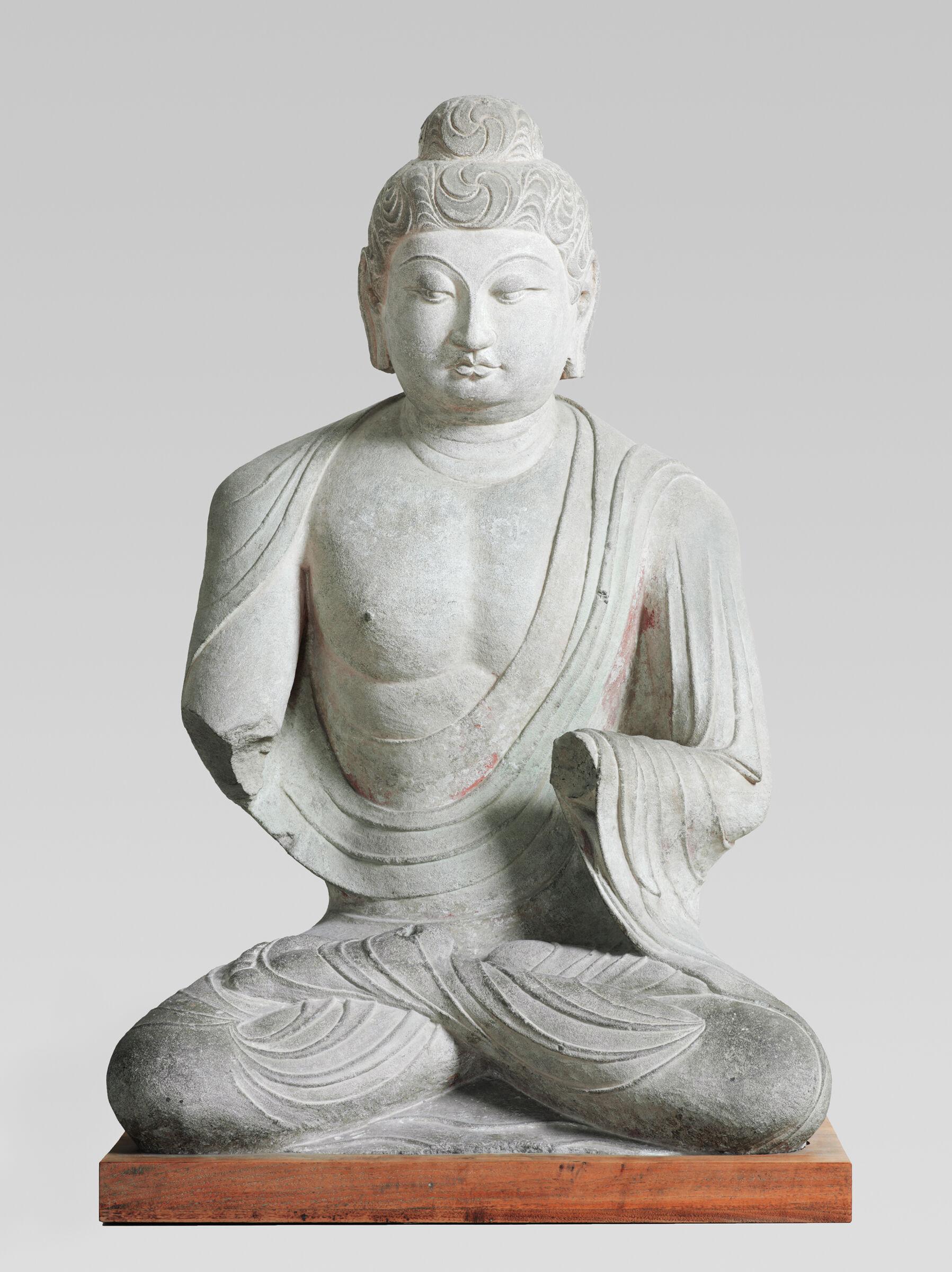Seated Buddha (Probably Shakyamuni)