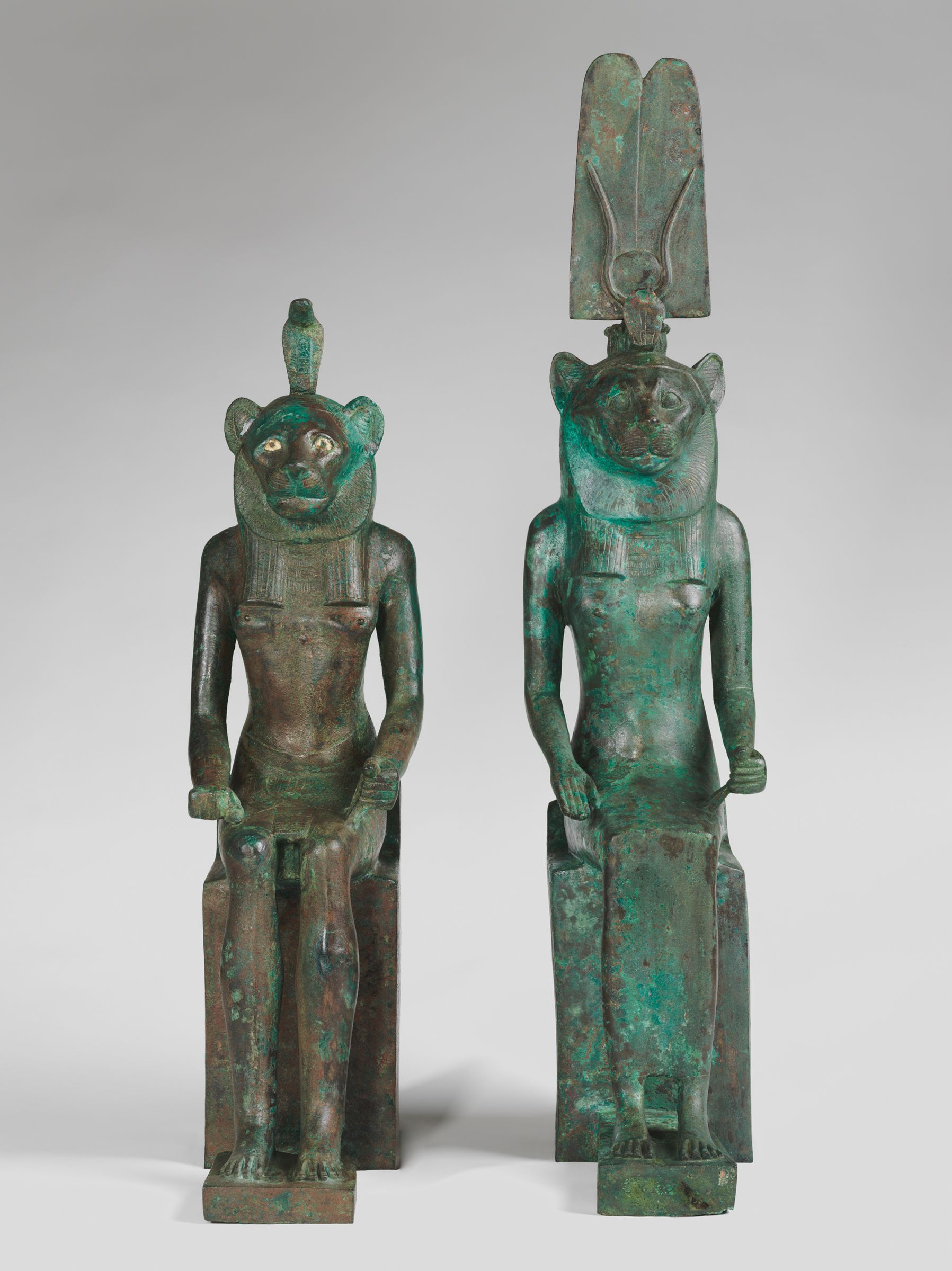 Lion-Headed Deity With Cobra Headdress