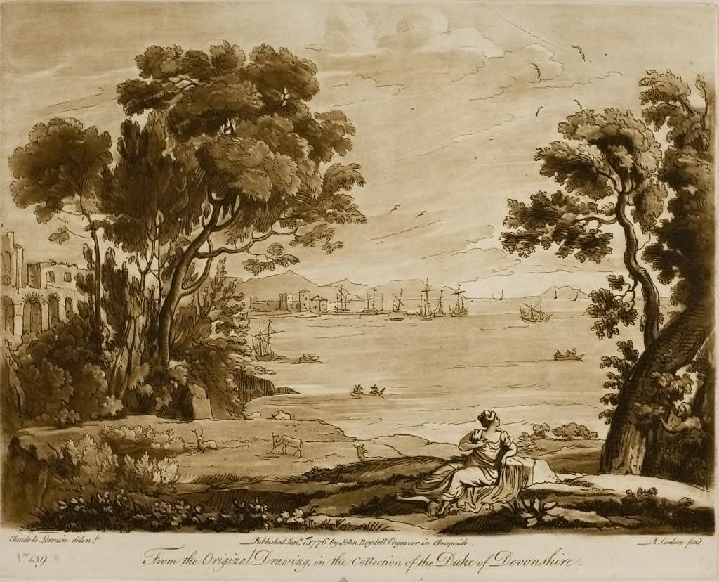 A Landscape, With An Adjoining Sea View
