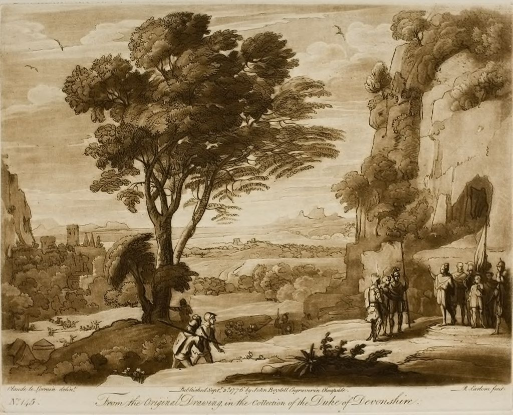 A Landscape, With Figures (Sinon Brought Before Priam)