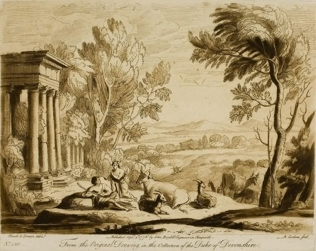 A Landscape, With The Story Of Mercury Charming Argus Asleep With His Pipe