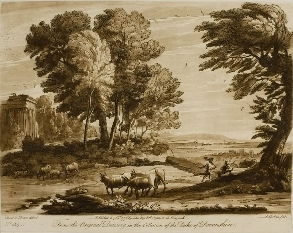A Landscape, With The Story Of Mercury And Battus