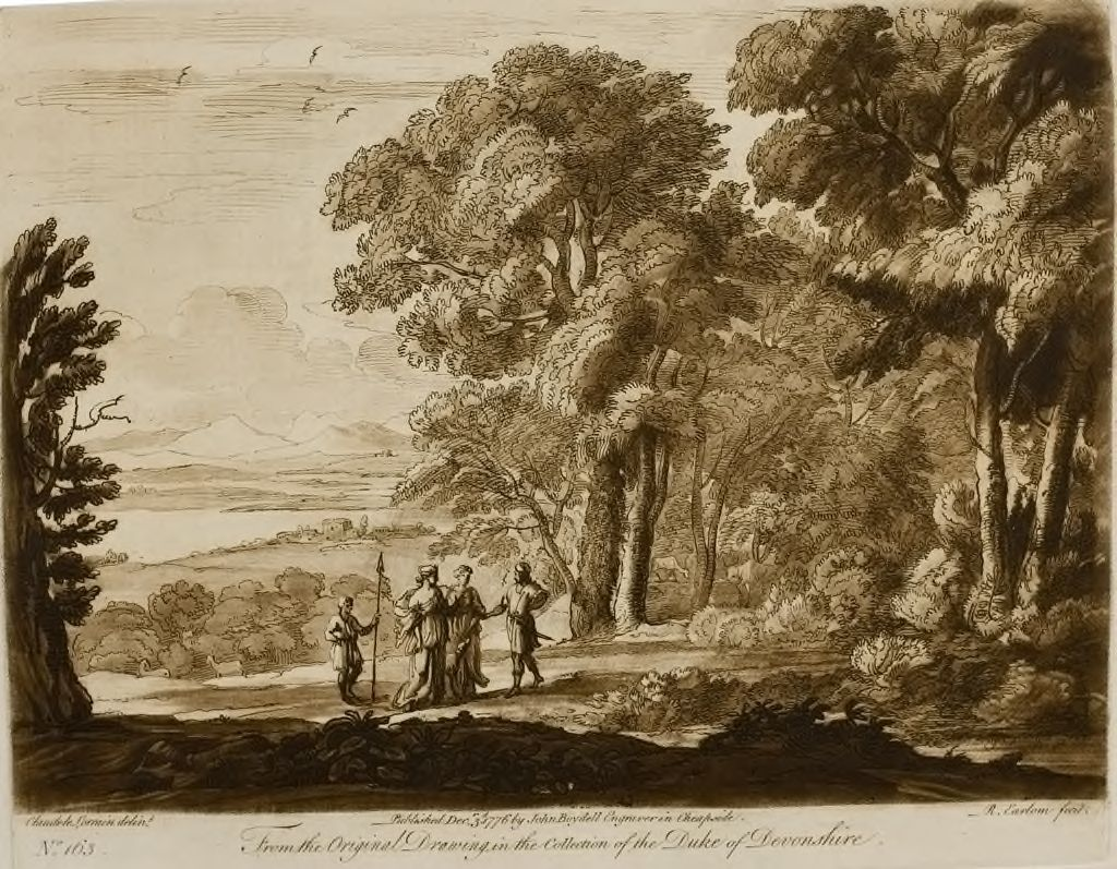 A Landscape, With The Story Of Cephalus And Procris