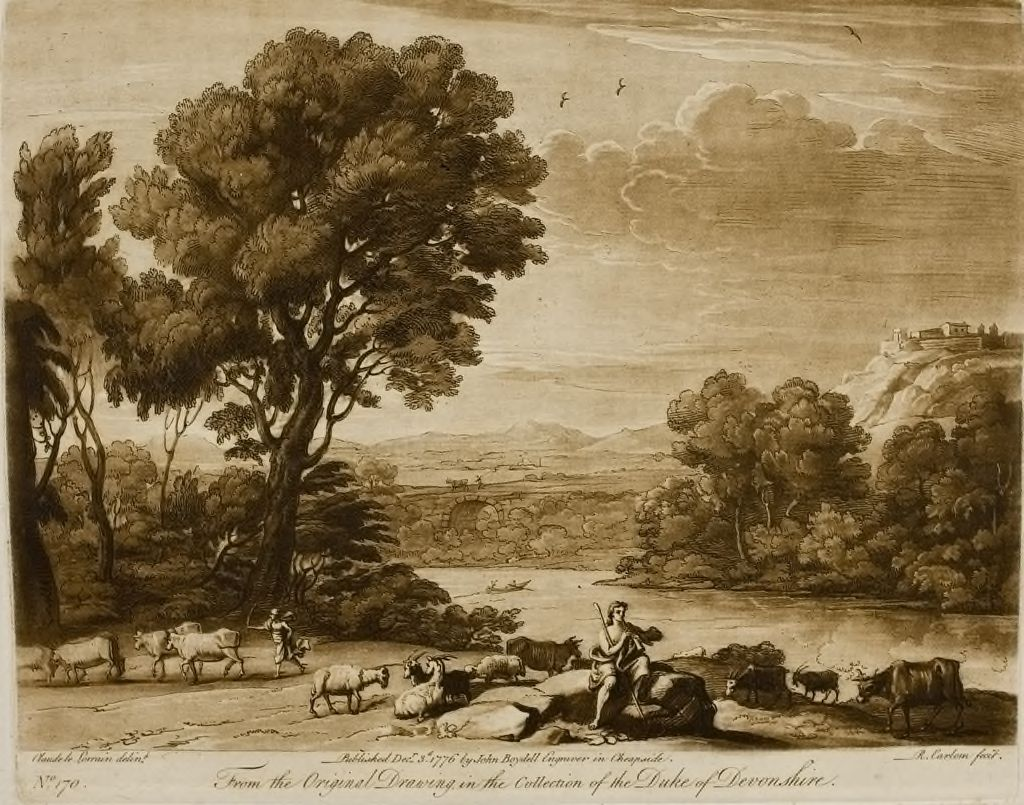 A Landscape, With Cattle, And With Mercury And Battus