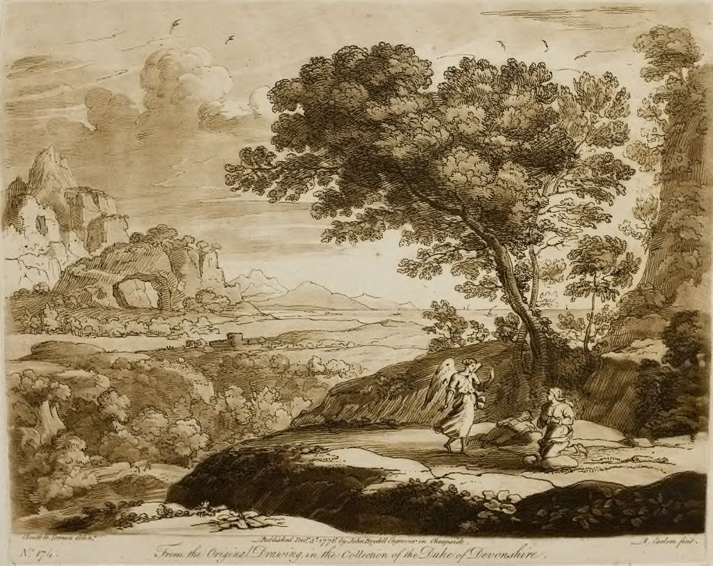 A Landscape, With Abraham Turning Out Hagar And Her Son