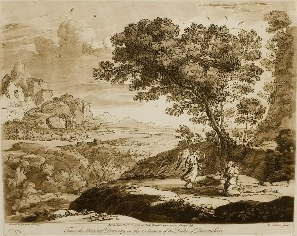 A Landscape, With The Angel, Hagar, And Her Son