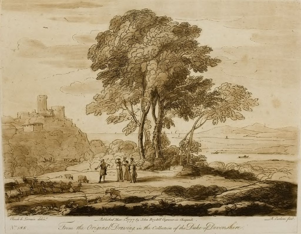 A Landscape, With Figures And Cattle