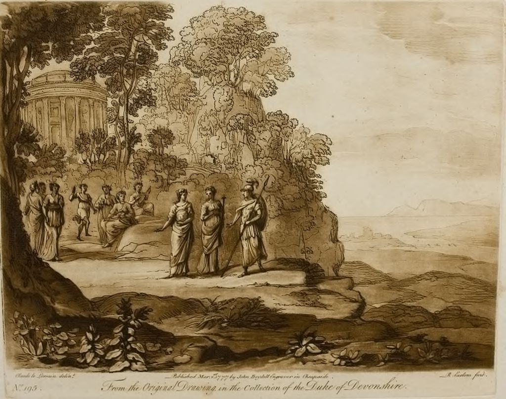 A Landscape, With Mount Parnassus And The Muses