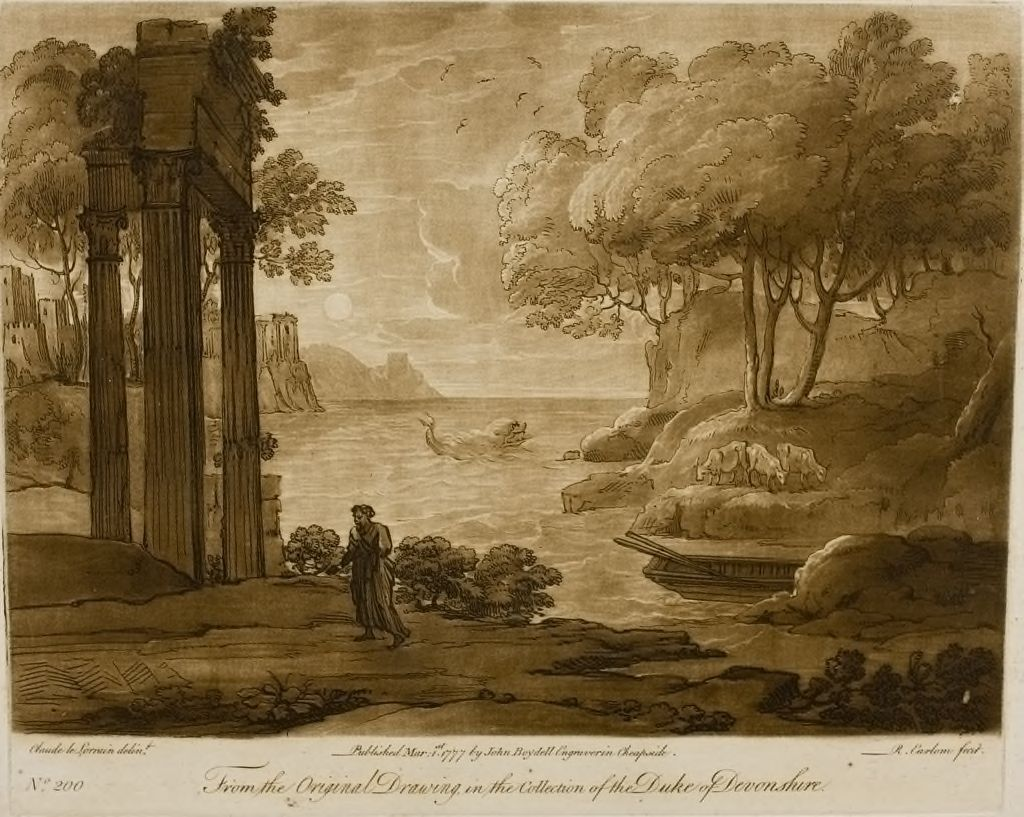A View On The Seashore, With The Story Of Jonas