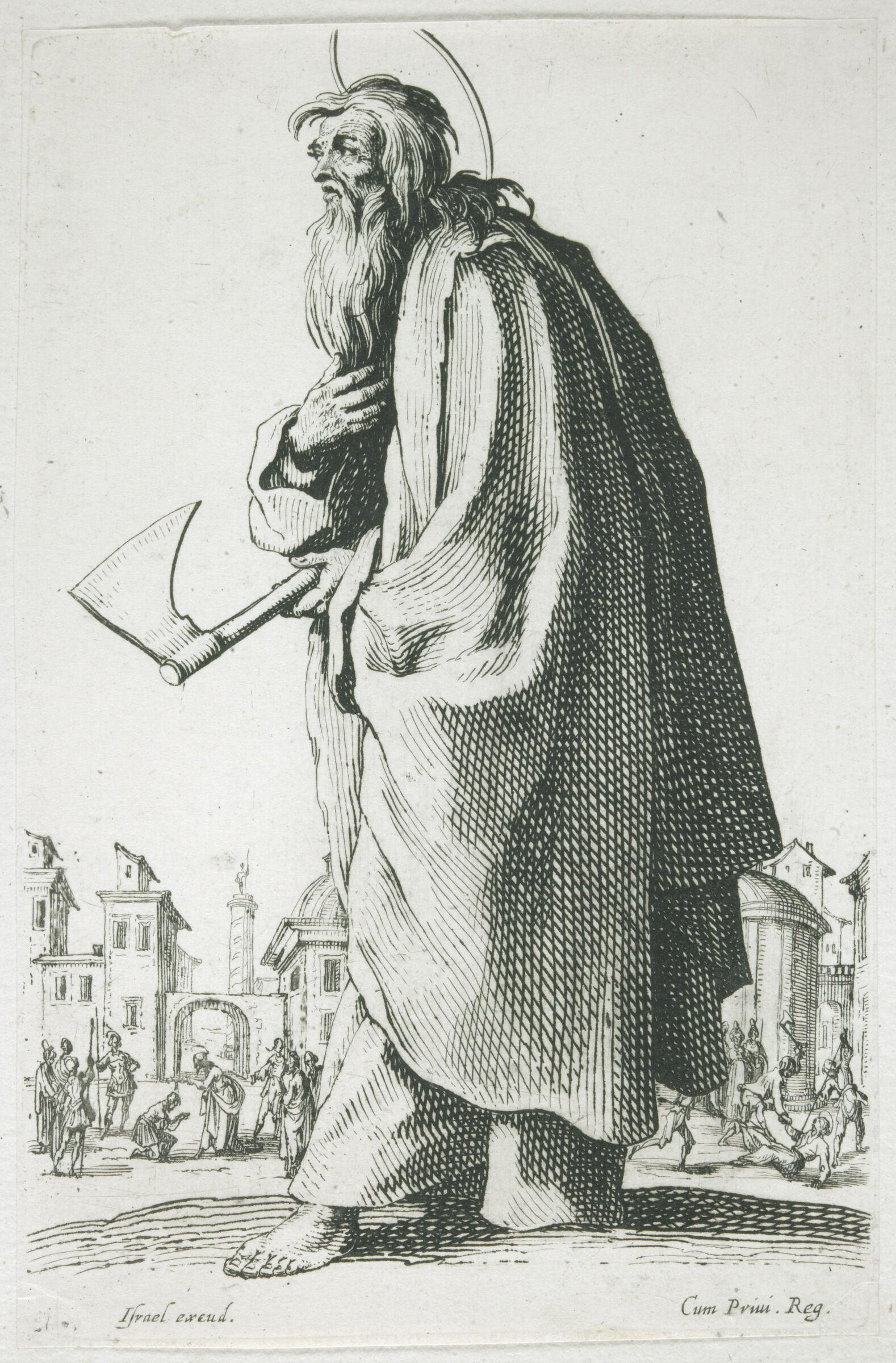 Saint Thaddeus Or Saint Jude